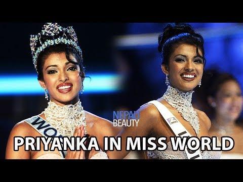 Priyanka Chopra S Winning Performance In Miss World 2000 म स