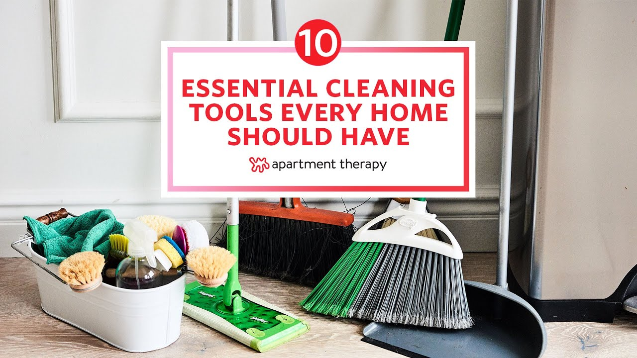 10 Essential Cleaning Tools Every Home Should Have