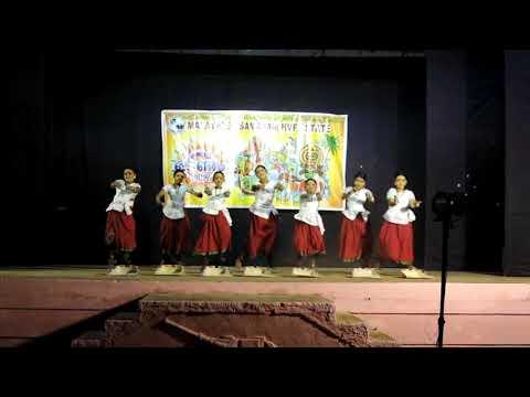 Aa parali parali.....amazing dance performance  by sreelakshmi dance shool children's at onam 2017