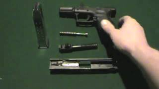 Springfield Armory XD pistol Disassembly and Assembly + Cleaning Tips
