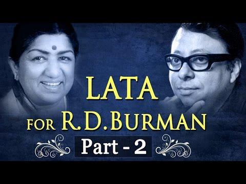 Lata Mangeshkar for RD Burman Jukebox 2  Lata & RDBurman Songs HD  Evergreen Old Songs