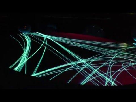 CERN Lights Show in Geneva Switzerland