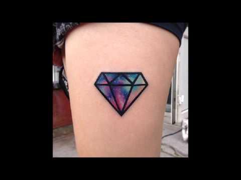 Tatuajes Pequeños De Diamantes Para Hombre Y Mujer Youtube