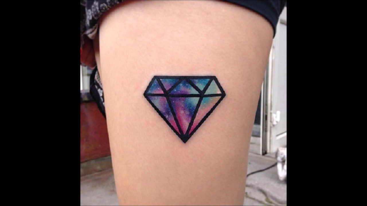 Small Diamond Tattoos For Men And Women