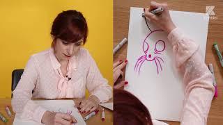 Papier-Crayon - Pénélope Bagieu répond à nos question en dessins.