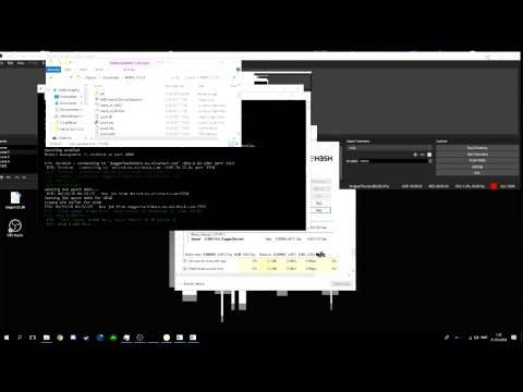 Cryptocurrency Mining With My R9 290x On Nicehash! Afk Sleeping