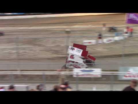 Deming Speedway WA - Micro 600R Heat Race (Ben Ferrara) - August 24, 2018