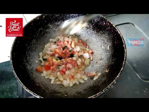 Dry Prawns Masala With Onion Tomatto - Indian Food - How To Make At Home