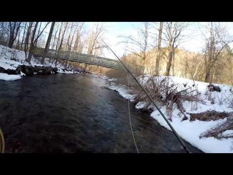 Winter Fly Fishing the Housatonic River