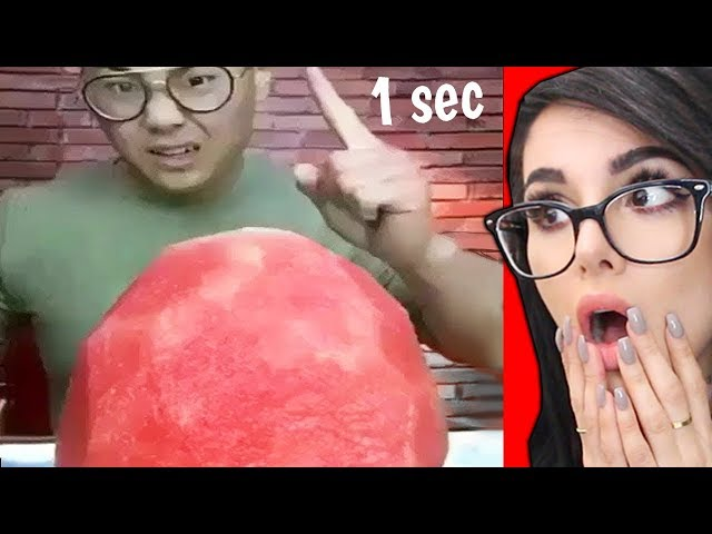 Eat This Watermelon in 1 Second