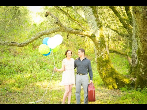 Colorful Vintage Engagement Photographer | Tilden Park, Berkeley, CA  | Behind The Scenes Video