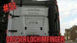 Das 5 er Loch im Finger/Lkw Doku /Truck Doku Deutsch/Truck Tv