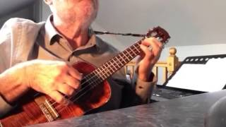 All By Myself - solo ukulele - Colin Tribe on LEHO