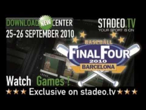 Baseball European Champions Cup Barcelona Final Four 2010