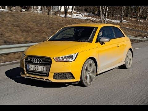Audi S1 road test English subtitled