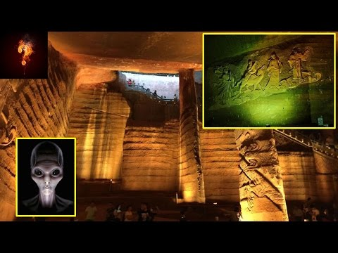 High-Tech Machines Build Ancient Caves Found In China?