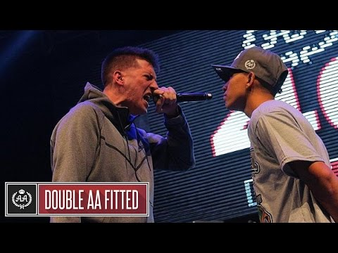 CHUTY vs VALLES T - 16avos DOUBLE AA FEST 2017 (HD)
