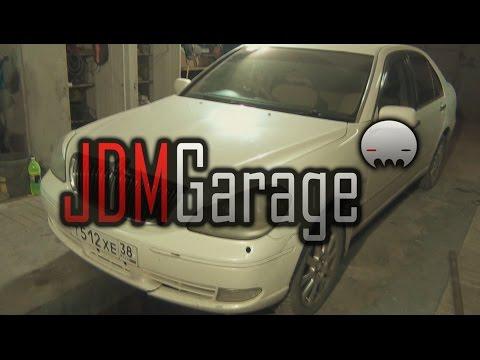 🔰 JDM Garage   Toyota Brevis   Полировка запущенных фар, ремонт и покраска бампера