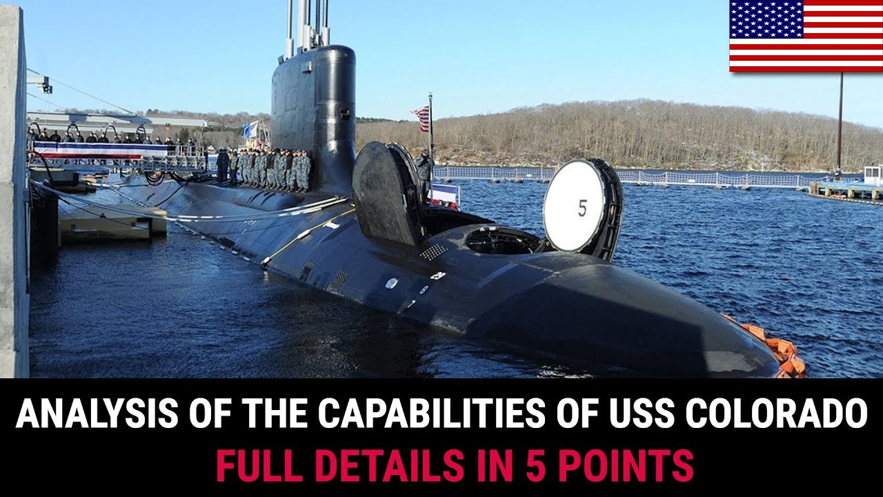 ANALYSIS OF THE CAPABILITIES OF USS COLORADO