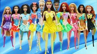 Play Doh 11 Disney Princesses Sailor Moon Costumes