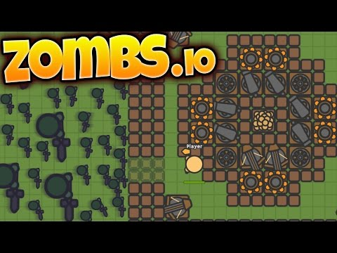 Zombs.io - Build, Defend, Survive - Zombie Fortress Defense IO Game! - Zombs.io Gameplay Highlights