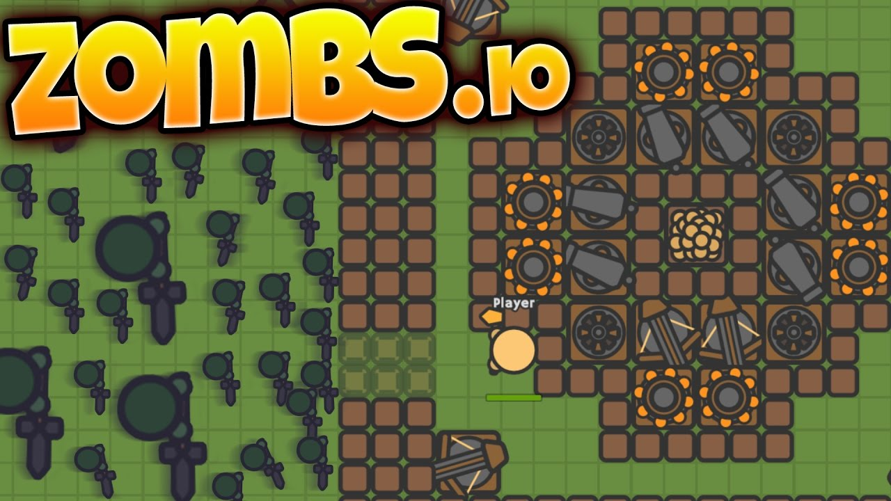 Zombs.io - Build, Defend, Survive - Zombie Fortress ...