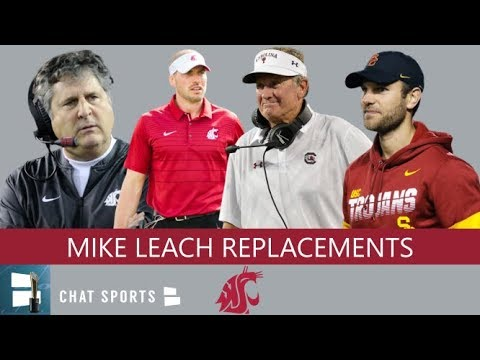 Top 10 Candidates To Replace Mike Leach As Next Washington State Cougars Head Coach In 2020