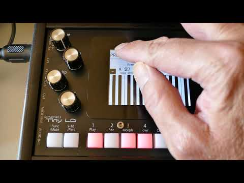 Superbooth 2019: Gotharman's Tiny LD could be the smallest granular synth workstation out there