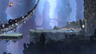 Rayman Origins: Land of the Livid Dead Walkthrough [ps3 version] 2 player co-op