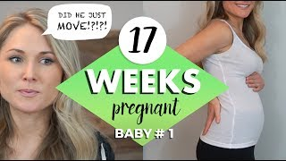 17 WEEKS PREGNANT UPDATE // The Baby Moved!!!