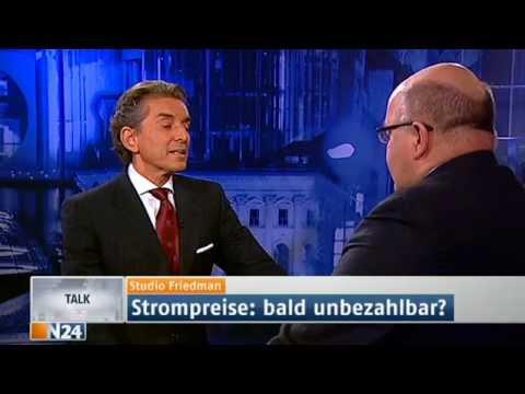 Studio Friedman: Strompreis - Abzocke (Sendung vom 17.01.2013)