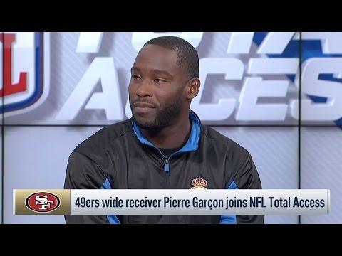 Pierre Garçon Joins NFL Total Access