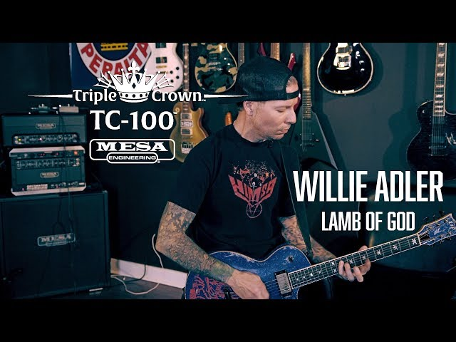 Tone Sessions: Willie Adler & Triple Crown™ TC-100™