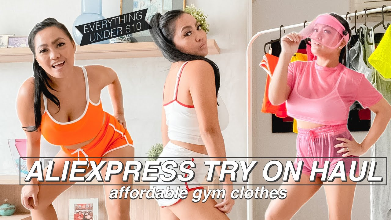 AliExpress Try On Haul [affordable gym clothes]