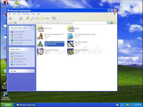 Installing Netscape Communicator 4.8 on Windows XP