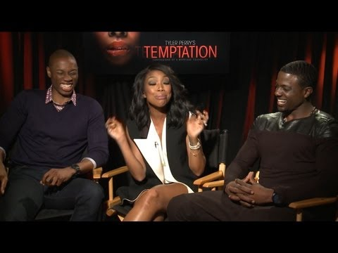 Temptation Interviews - Jurnee Smollett Bell, Brandy Norwood, Lance Gross, Robbie Jones