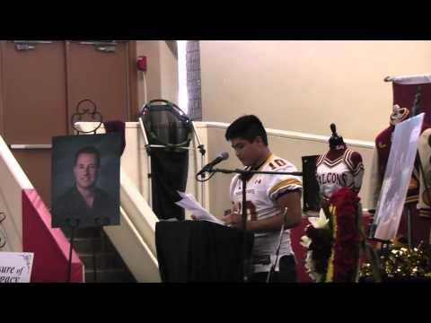Brandon Hong in Scott Chodorow Celebration of Life