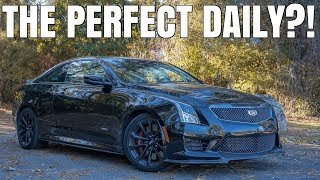 homepage tile video photo for 2017 Cadillac ATS-V Review - Overpriced and PERFECT?