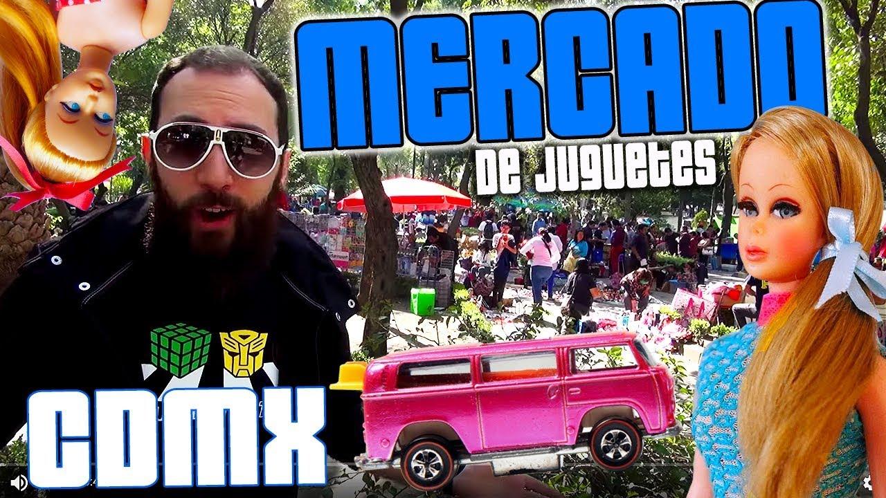 De Cdmx Balderas Ciudad Juguetes Tianguis Mercado Flea Market México Hotwheels Barbie Muñecas uTOPikZX