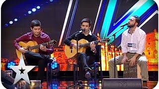 Sangre Ibérico - Audições PGM 01 - Got Talent Portugal Série 02