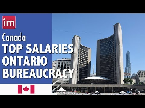Government of Ontario: Top salaries | Wages in Canada