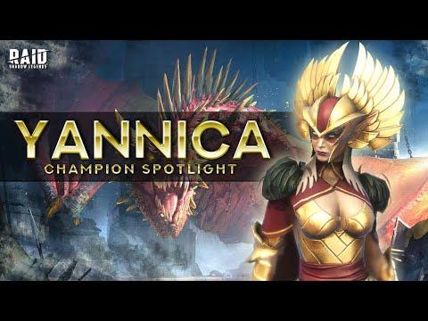 Champion Spotlight: Yannica the 1 Shot Queen (Rework) I Raid Shadow Legends