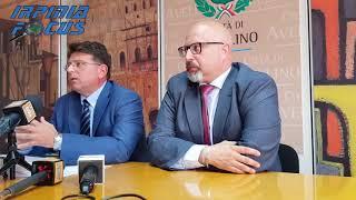 Bilancio Comune di Avellino, la conferenza stampa del sindaco Vincenzo Ciampi