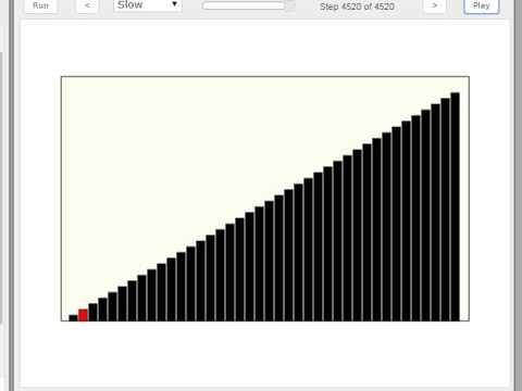 Sorting Algorithm - reSort Animation