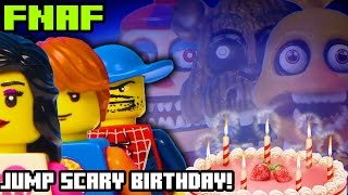 IT'S A FNAF JUMP-SCARY BIRTHDAY! (feat. McFarlane Toys!) SPIDER FRANK CAN'T POOP??    Brick & Betty