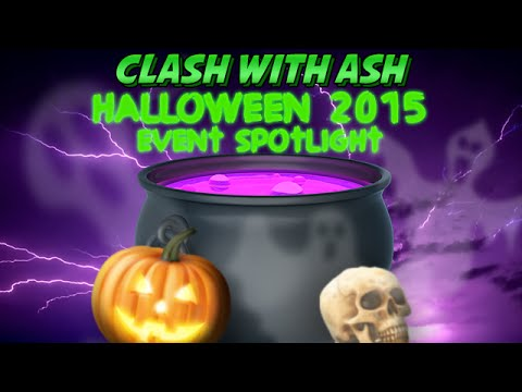 Clash of Clans Halloween 2015 is Here! Boost that Spell Factory!