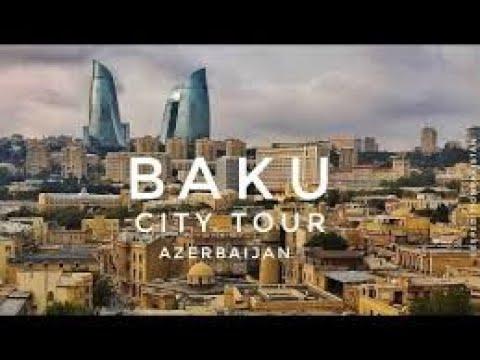 Azerbaijan Baku dealing taxi driver