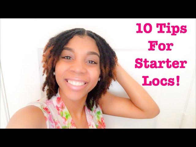 10 Valuable Tips For Starter Locs!!