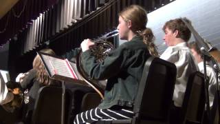Rutherford County Tennessee Middle School All County Honors Band Concert 2015