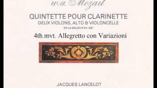 クラリネット五重奏曲 第4楽章